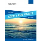 Complete Equity and Trusts: Text, Cases and Materials, 5th Edition