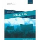 Complete Public Law: Text, Cases, and Materials, 4th Edition