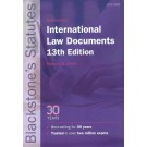 Blackstone's International Law Documents, 13th Edition