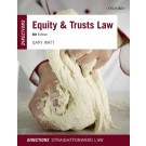 Equity and Trusts Law Directions, 6th Edition