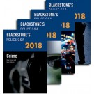 Blackstone's Police Q&A: Four Volume Pack 2018