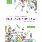Employment Law: An Introduction, 5th Edition