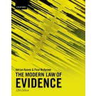 The Modern Law of Evidence, 12th Edition
