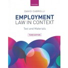 Employment Law in Context: Text and Materials, 3rd Edition