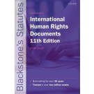 Blackstone's International Human Rights Documents, 11th Edition