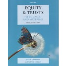 Equity & Trusts: Text, Cases, and Materials, 3rd Edition