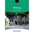 Bar Manual: Advocacy, 19th Edition