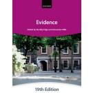 Bar Manual: Evidence, 19th Edition