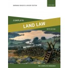 Land Law: Text Cases and Materials, 6th Edition