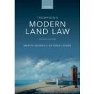 Modern Land Law, 7th Edition