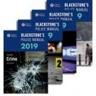 Blackstone's Police Manuals 2019: Four Volume Set