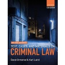 Smith and Hogan's Text, Cases, and Materials on Criminal Law, 13th Edition
