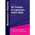 Blackstone's EU Treaties and Legislation 2019-2020