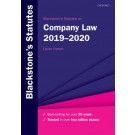 Blackstone's Statutes on Company Law 2019-2020
