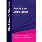 Blackstone's Statutes on Family Law 2019-2020