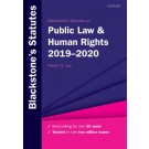 Blackstone's Statutes on Public Law & Human Rights: 2019-2020