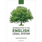 Introduction to the English Legal System 2019-2020