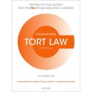 Concentrate: Tort Law, 5th Edition