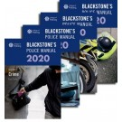 Blackstone's Police Manuals 2020: Four Volume Set