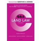Concentrate Q&A: Land Law, 2nd Edition