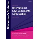 Blackstone's International Law Documents, 15th Edition