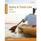 Equity and Trusts Law Directions, 7th Edition