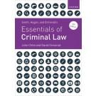 Smith & Hogan, & Ormerod's Essentials of Criminal Law, 4th Edition