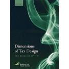 Dimensions of Tax Design