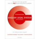 Concentrate: English Legal System