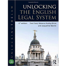 Unlocking the English Legal System, 6th Edition