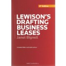 Lewison's Drafting Business Leases, 8th Edition