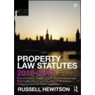 Property Law Statutes 2012-2013, 4th Edition