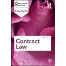 Contract Lawcards 2012-2013, 8th Edition