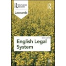 English Legal System Lawcards 2012-2013, 8th Edition