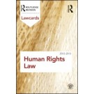 Human Rights Lawcards 2012-2013, 4th Edition