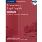 International Legal English Student's Book with Audio CDs