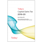 Tolley's Capital Gains Tax 2019-2020