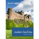 Modern Land Law, 11th Edition
