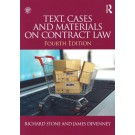 Text, Cases and Materials on Contract Law, 4th Edition