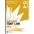 Law Express Question and Answer: Tort Law, 4th edition
