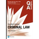 Law Express Question and Answer: Criminal Law, 4th Edition