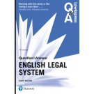 Law Express Question and Answer: English Legal System, 4th Edition