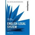 Law Express: English Legal System, 7th Edition