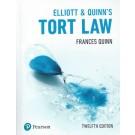 Elliott & Quinn: Tort Law, 12th Edition