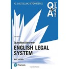 Law Express Question and Answer: English Legal System, 5th Edition