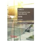 Tolley's Company Law Handbook 2018