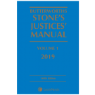 Butterworths Stone's Justices' Manual 2019