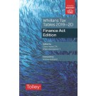 Whillans's Tax Tables 2019-20: Finance Act Edition