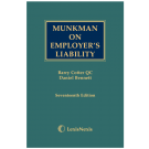 Munkman on Employer's Liability, 17th Edition