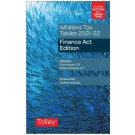 Whillans Tax Tables 2021-22: Finance Act Edition